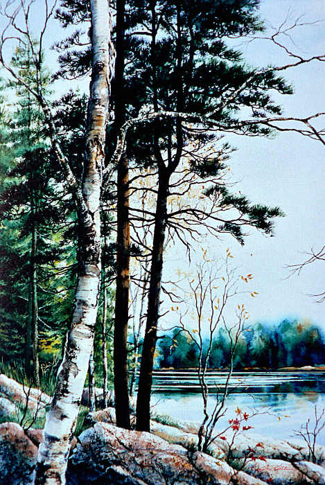 Canadian landscape paintings
