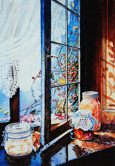 Open Window Paintings