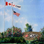 painting of CMP Plant