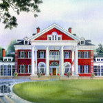 painting of Langdon Hall