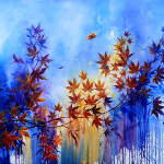 Japanese Maple Mural and canvas designs