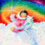 Eskimo Dog Fun Pictures For Kids Room Decor