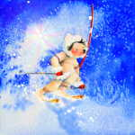 Midnight Sun Slalom Skier For Kids