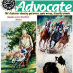 PKA's Advocate Magazine cover art by Hanne Lore Koehler