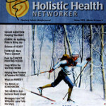 Holistic Health Magazine cover art by Hanne Lore Koehler