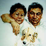portrait artist paintings from photo